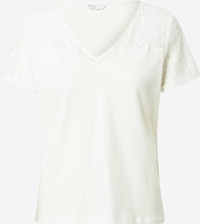 ONLY Shirt in weiß, Produktansicht