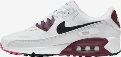 Nike Sportswear Sneaker in bordeaux / schwarz / weiß, Produktansicht