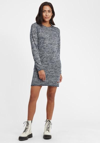 Oxmo Strickkleid 'Danielle' in blau / navy, Modelansicht