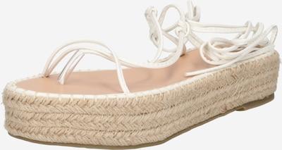 BEBO Sandále 'LARSEN' - béžová / prírodná biela, Produkt
