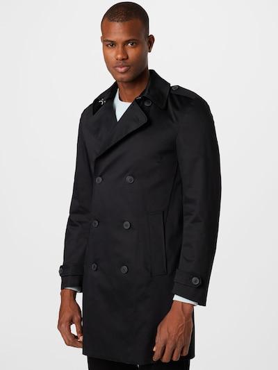SELECTED HOMME Tussenjas 'SANDER' in de kleur Zwart, Modelweergave