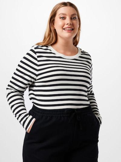 fekete / fehér Selected Femme Curve Póló 'ANDARD': Elölnézet