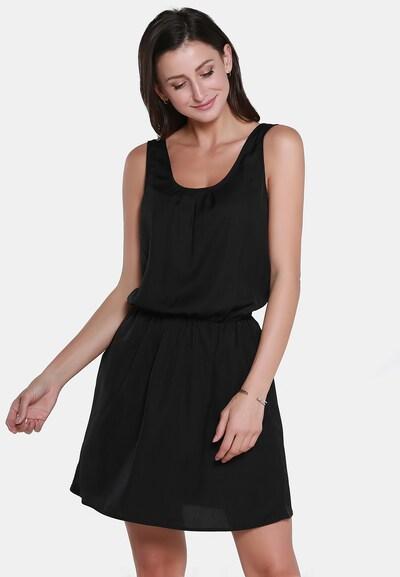 Rochie usha BLACK LABEL pe negru, Vizualizare model