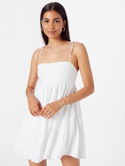 Abercrombie & Fitch Kleid in offwhite, Modelansicht