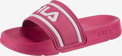 FILA Badeschuh in pink / weiß, Produktansicht