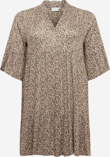KAFFE CURVE Sukienka 'Birne' w kolorze oliwkowy / jasnoróżowym, Podgląd produktu