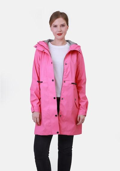 Dingy Rhythm Of The Rain Tussenmantel 'Alice' in de kleur Pink, Modelweergave