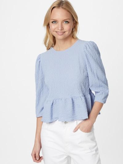 ONLY Bluse in blau, Modelansicht
