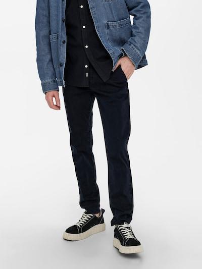 Only & Sons Chino kalhoty 'Pete' - námořnická modř, Model/ka