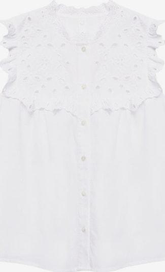 MANGO Bluse 'Milan' in weiß, Produktansicht