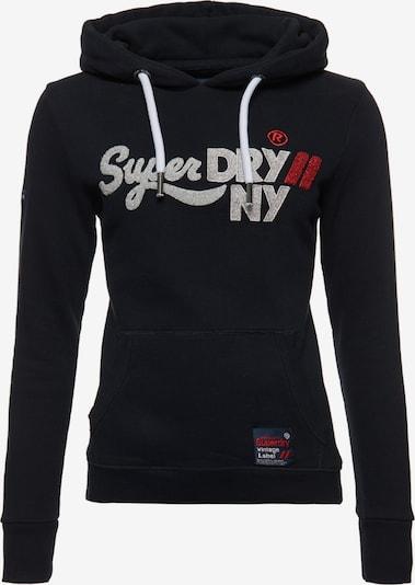 Superdry Sweatshirt 'New York' in de kleur Marine / Wit, Productweergave