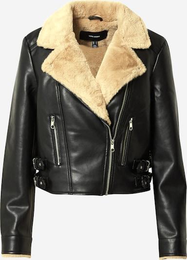 VERO MODA Jacke in beige / schwarz, Produktansicht