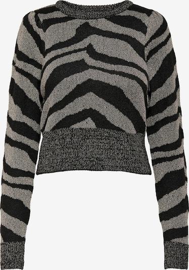 ONLY Pulover 'Neela' | črna / srebrna barva, Prikaz izdelka