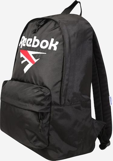 Reebok Classic Rucksack in rot / schwarz / weiß, Produktansicht