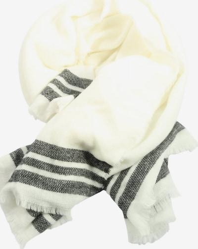 ZARA Strickschal in One Size in schwarz / wollweiß, Produktansicht