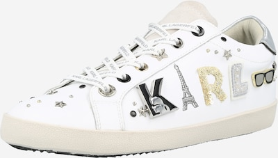 Karl Lagerfeld Låg sneaker i svart / vit, Produktvy