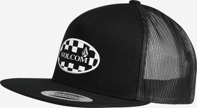 Volcom Cap 'WILMER' in schwarz / weiß, Produktansicht