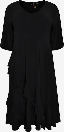 Yoek Robe ' Dolce ' en noir, Vue avec produit