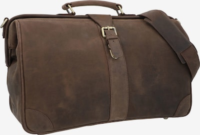 Gusti Leder Reisetasche 'Anderson' in braun, Produktansicht