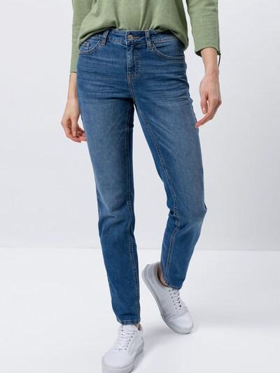 zero Jeans in blue denim, Modelansicht
