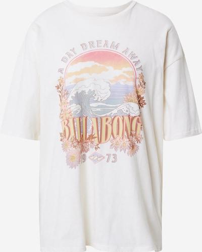 BILLABONG Camiseta funcional 'DREAMY DAY' en azul claro / naranja claro / rosa claro / rojo claro / blanco, Vista del producto