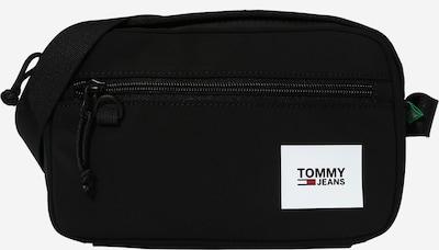 Tommy Jeans Sac à bandoulière en noir / blanc, Vue avec produit