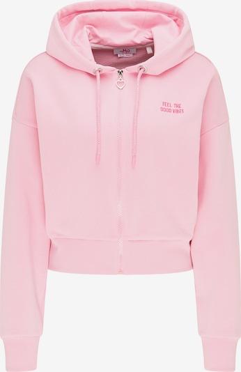 MYMO Sweatjacke in pitaya / hellpink, Produktansicht