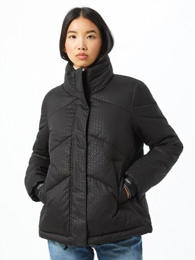 Calvin Klein Veste d'hiver 'Monogram' en noir: Vue de face