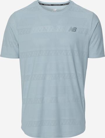 new balance Sportshirt 'Speed' in Grau
