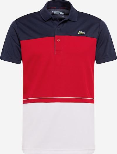 Lacoste Sport Sport-Shirt in navy / rot / weiß, Produktansicht