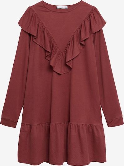 MANGO Vestido 'Adelina' en marrón rojizo, Vista del producto
