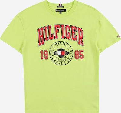 TOMMY HILFIGER Camiseta en navy / limón / rojo / blanco, Vista del producto