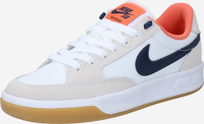 Nike SB Baskets basses 'SB' en beige / bleu marine / corail / blanc, Vue avec produit