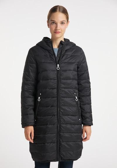 DreiMaster Maritim Mantel in schwarz, Modelansicht