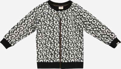 Turtledove London Tussenjas in de kleur Donkergrijs / Zwart / Wit, Productweergave