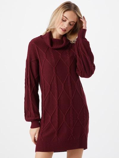 HOLLISTER Kleid in burgunder, Modelansicht