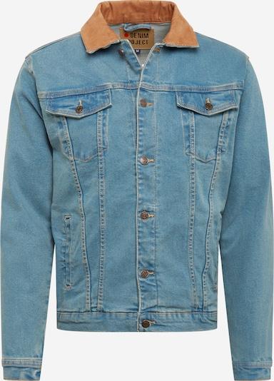 Denim Project Between-season jacket 'Kash' in Blue denim / Brown, Item view