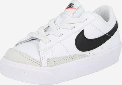 Nike Sportswear Sneaker 'BLAZER LOW '77 (TD)' in schwarz / weiß / offwhite, Produktansicht