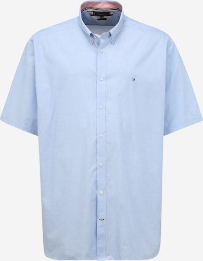Tommy Hilfiger Big & Tall Chemise 'POPLIN' en bleu marine / bleu clair / rouge / blanc, Vue avec produit