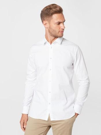 Biela košeľa od značky BOSS Casual