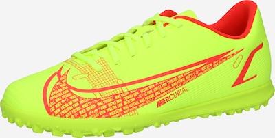 NIKE Voetbalschoen 'Mercurial Vapor 14 Club' in de kleur Neongeel / Oranjerood, Productweergave