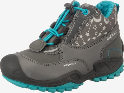 GEOX Kids Winterboots 'New Savage' in aqua / grau, Produktansicht
