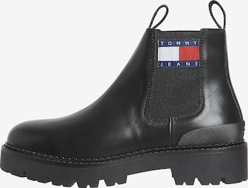 Tommy Jeans Boots in Schwarz