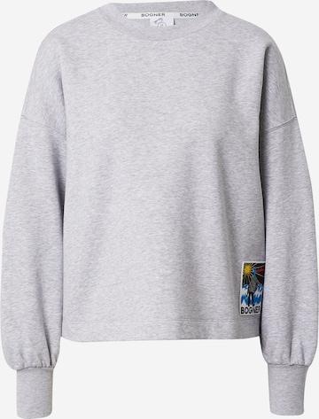 BOGNER Sweatshirt 'SISA' in Grey