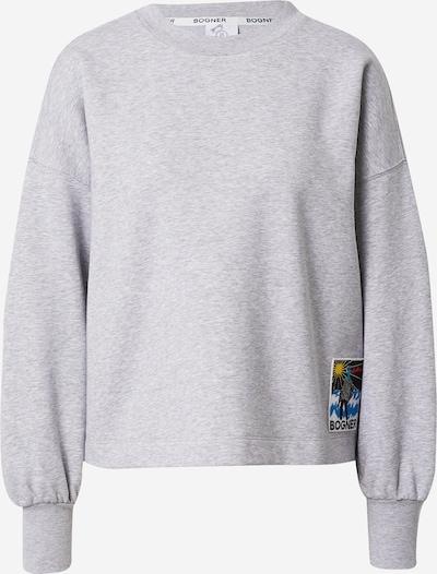 Bluză de molton 'SISA' BOGNER pe azuriu / galben / gri amestecat / negru, Vizualizare produs