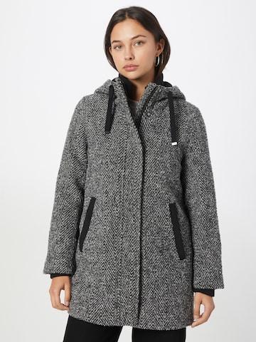 juoda ESPRIT Demisezoninis paltas