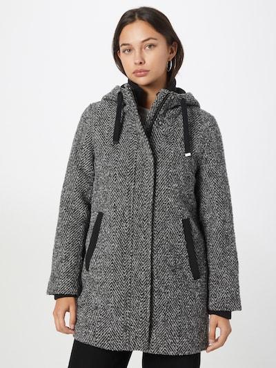 ESPRIT Mantel in schwarz / weiß, Modelansicht