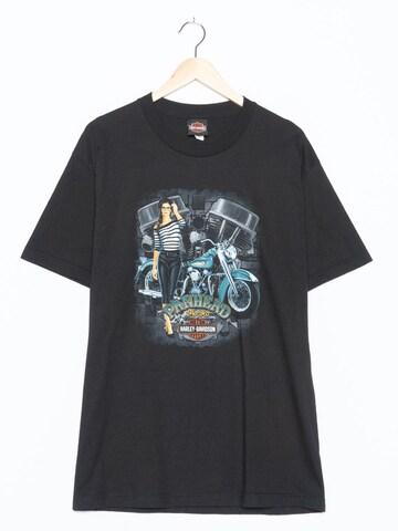 Harley Davidson T-Shirt in S-M in Schwarz