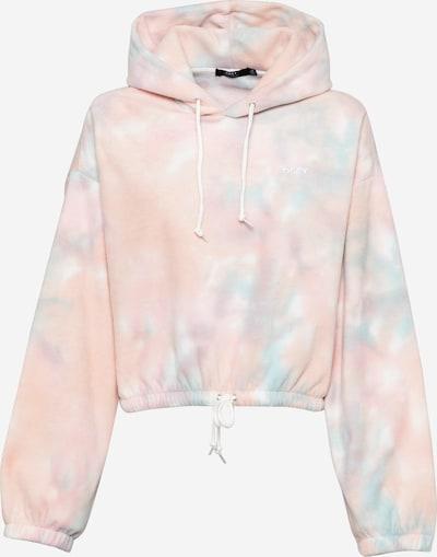Obey Sweatshirt 'RUSSETT' in blau / pink / weiß, Produktansicht