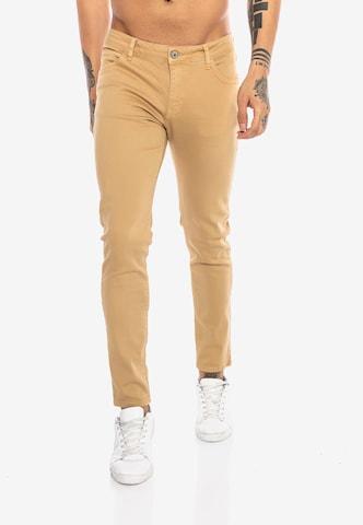 Redbridge Jeanshose 'Saitama Colored' in Braun